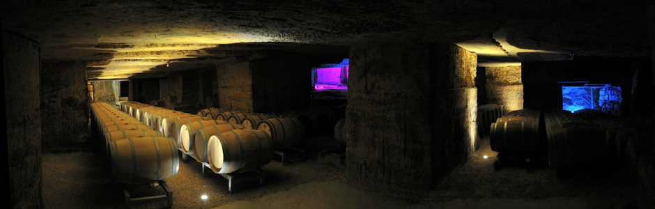 Visitez et découvrez les caves monolithes du Château Rochebelle.
