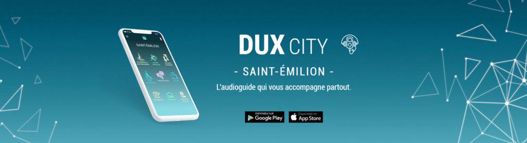 DUXCITY Saint-Émilion, L'audioguide qui vous accompagne partout.