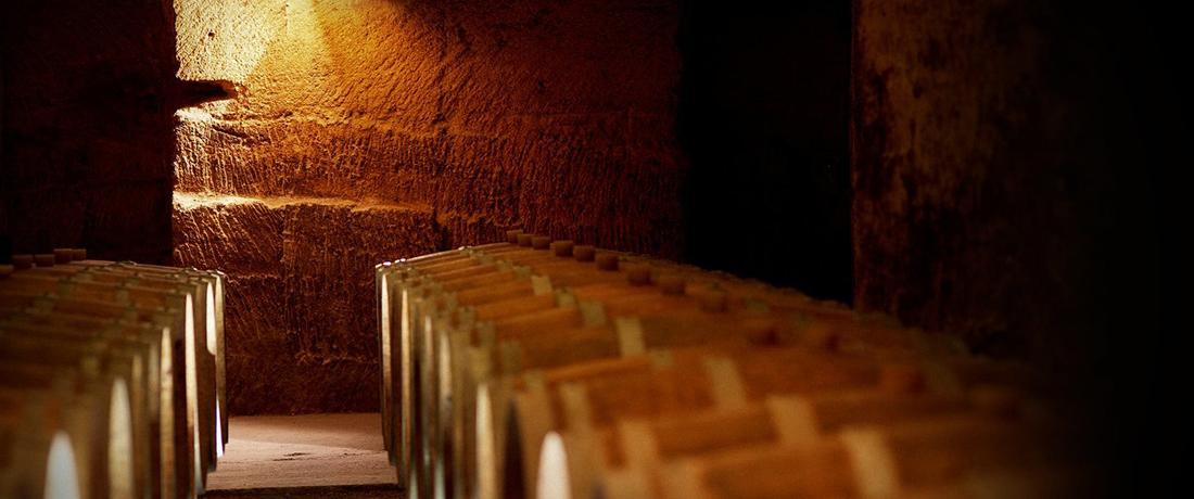 Saint-Émilion...! Les caves monolithes du Château ROCHEBELLE
